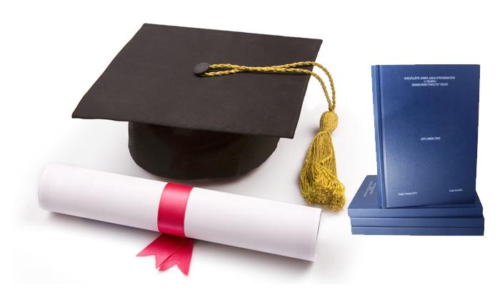 Tisak i uvez diplomskih radova